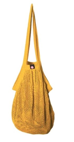 0 Heavy Stringbag/verkkokassi Yellow
