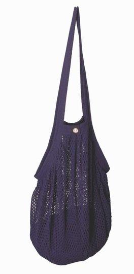 0 Heavy Stringbag/verkkokassi aubergine