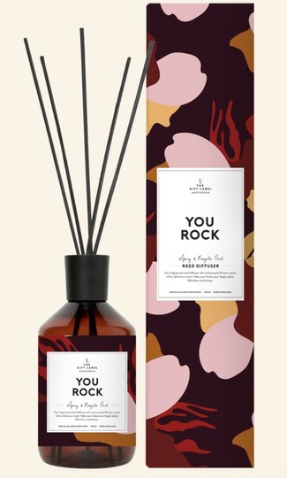 0 Huonetuoksu-Reed Diffuser You Rock
