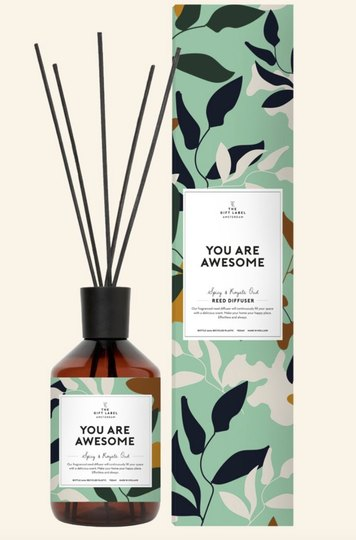 0 Huonetuoksu-Reed Diffuser You are Awesome