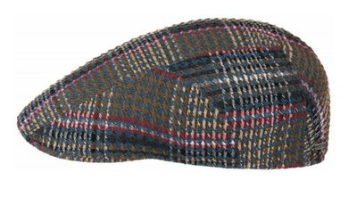 0 Ivy cap Cotton Check