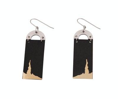 0 Kasnäs koukkukorvakorut/hook earrings