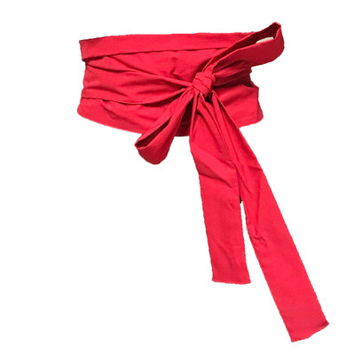 0 Kimonovyö/Kimonobelt Red