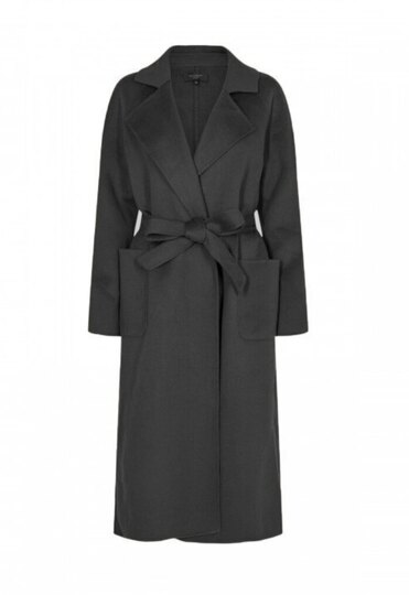 0 Kobra Wool Coat Black