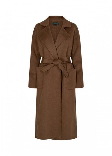 0 Kobra Wool Coat brown