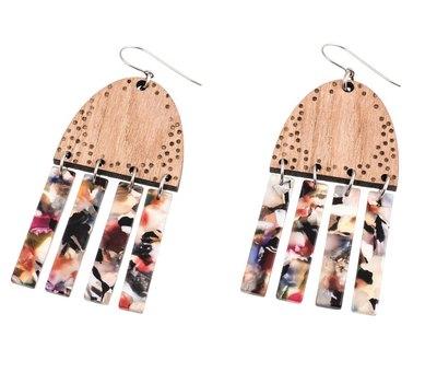 0 Koukkukorvakorut/Hook earrings Multicolour/