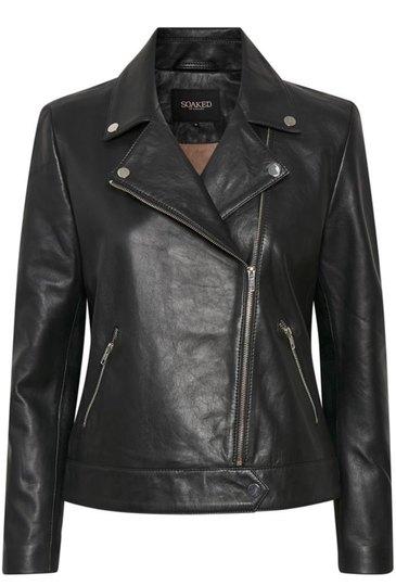 0 Leather Biker Jacket
