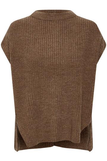 0 MIllicent Vest Brownie Melange