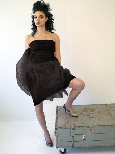 0 Mars Tulle Dress Black