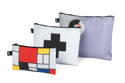 0 Mondrian, Malevich, Delaunay Zip Pockets