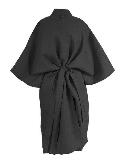 0 Moon Kimono Pellava/Linen Musta LIMITED EDITION