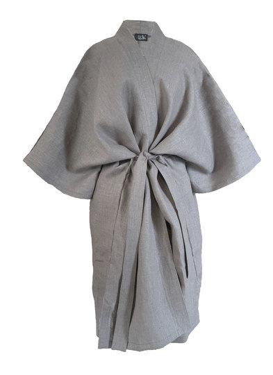 0 Moon Kimono Pellava/Linen Stone LIMITED EDITION