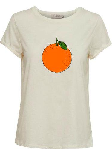 0 Orange Tee Organic Cotton