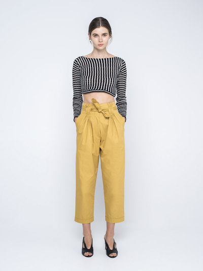 0 Paper Bows Pleated Pants (2 väriä/2 colours)
