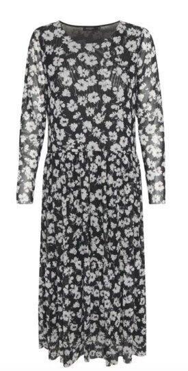 0 Paprika Dress Black Combi recycled materials