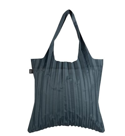0 Pleated Charcoal Bag