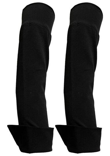 0 Poker Extra sleeves-lisähihat Black