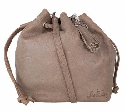 0 Pouch Bag Vintage Croco Sand