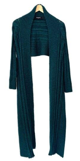 0 Raw elements cardigan 2550 green