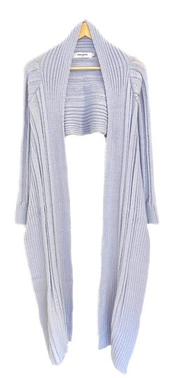 0 Raw elements cardigan 2550 lavender blue