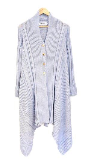 0 Raw elements cardigan lavender blue