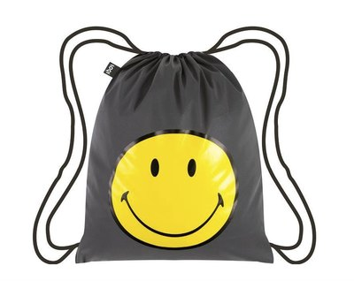 0 Reflective Silver Backpack Smiley