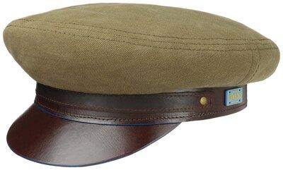 0 Riders cap Cotton Linen Olive