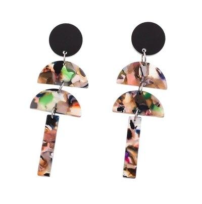 0 Roikkuvat nappikorvakorut/hanging stud earrings