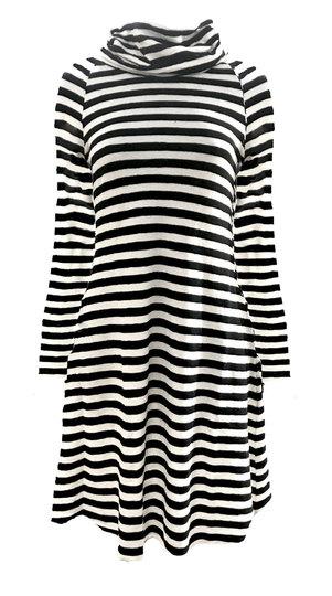 0 Roll Neck Dress (3 colours)