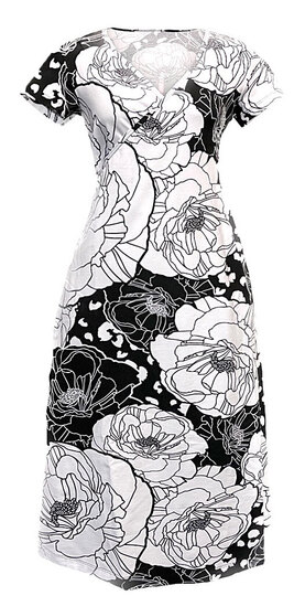 0 Salli Wrap Dress Poppy Chess
