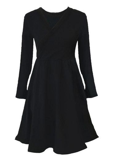 0 Seireeni II Dress Petit WRAP Black