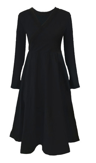 0 Seireeni II Dress WRAP Black
