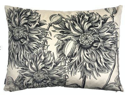 0 Sisustustyyny/Cushion White Poppy 50X70 cm