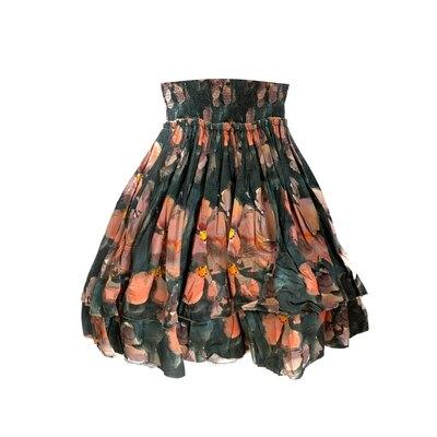 0 Skirt Original Flower Autumn Stories