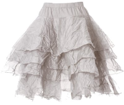 0 Skirt Tine Hard Voile Soft Mint