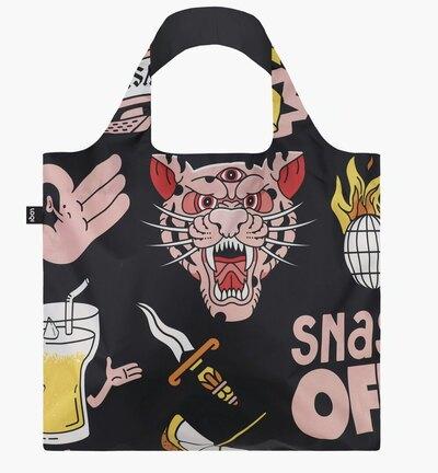 0 Snask Tiger Snake Recycled Bag