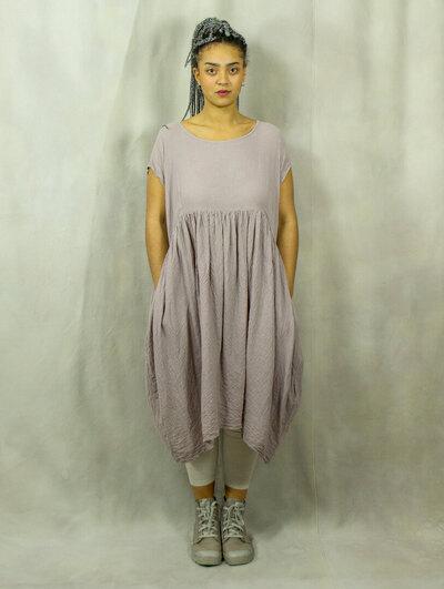 0 Staunkraut Dress Rose organic cotton