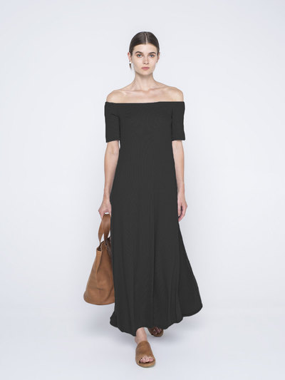 0 Strapless Maxi Dress (2 väriä/2 colours)