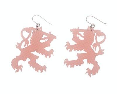 0 Suomen Leijona Roosa korvakorut
