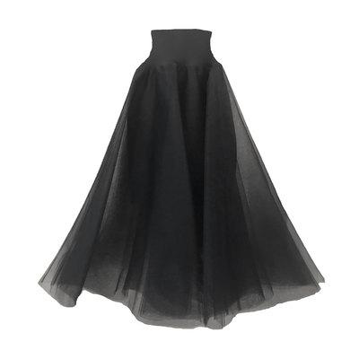 0 Swan Tulle Skirt Black