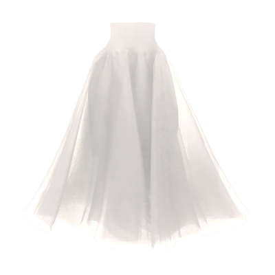 0 Swan Tulle Skirt Cream
