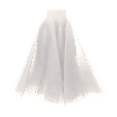 0 Swan Tulle Skirt Cream