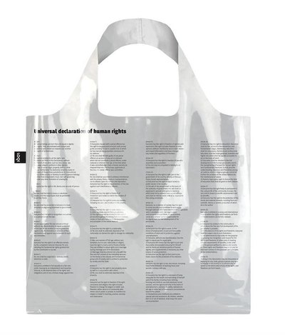 0 TRANSPARENT Universal Declaration of Human Rights Bag