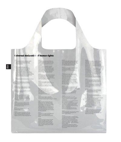 0 TRANSPARENT Universal Declaration of Human Rights Bag