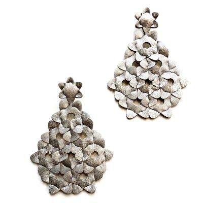 0 The Diamond Earrings Unicolour Silver