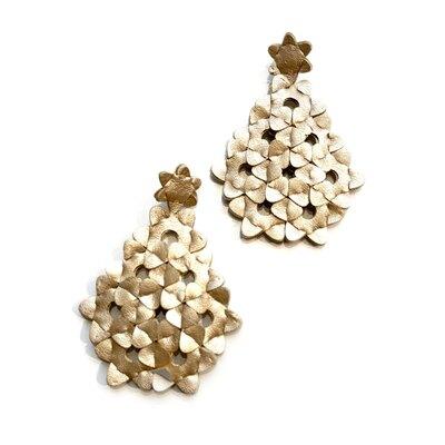 0 The Diamond earrings Light Gold