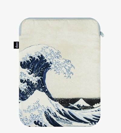 0 The Great Wave Recycled LapTop Cover HOKUSAI