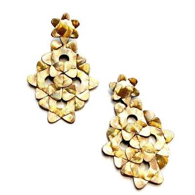 0 The Kite Earrings Uni-Colour Gold