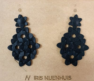 0 The Kite Earrings Unicolour Black