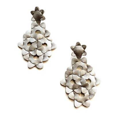 0 The Kite Earrings Unicolour Silver